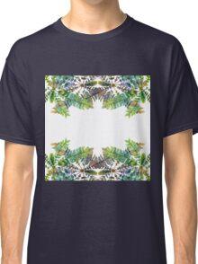 Colorful fern ornament Classic T-Shirt