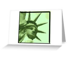 Freedom Crown Greeting Card