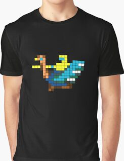 Joust Arcade Game Sprite Graphic T-Shirt