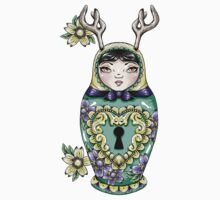 Lock Pick Russian Doll by Ella Mobbs