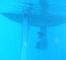 Amel Santorin Sailboat Underwater 2 by SlavicaB