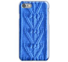 Aran knit iPhone Case/Skin