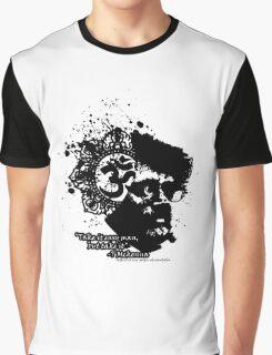 Terrance Mckenna Head Ohm Explosion Graphic T-Shirt