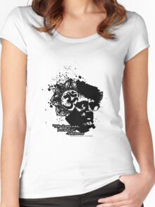 Terrance Mckenna Head Ohm Explosion Women's Fitted Scoop T-Shirt