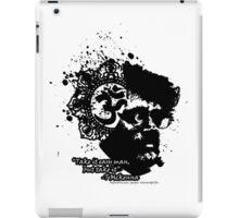 Terrance Mckenna Head Ohm Explosion iPad Case/Skin