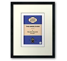 The Angel's Kiss Framed Print