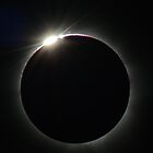 Eclipse - Cairns 2012, Diamond Ring by Wayne England