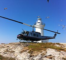 South Solitary Island - Huey Helicopter by PrecisionHeli
