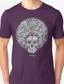 Psychedelic Afro Skull T-Shirt