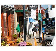 Main Street, Vineyard Haven Poster