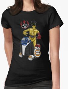 Beastie Bots Womens Fitted T-Shirt