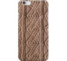 Laredo textured knit  iPhone Case/Skin