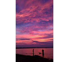 Fourth of July Sunset Photographic Print