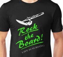 Rock the board - Windsurfing Unisex T-Shirt