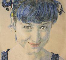 aartdina, a new blue by Peter Brandt