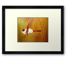 Must Lose Weight! Framed Print