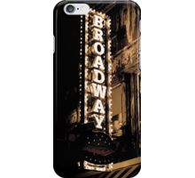 Broadway2 iPhone Case/Skin