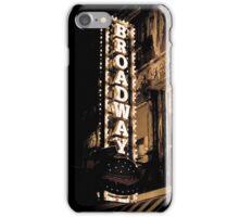 Broadway2 iPhone Case/Skin