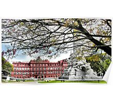 Casa Rosada Poster