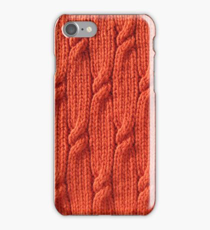 Firefly cable knit iPhone Case/Skin
