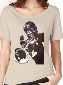 Louis Armstrong Women's Relaxed Fit T-Shirt