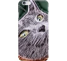 Wild nature - cat #7 iPhone Case/Skin