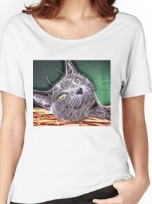 Wild nature - cat #7 Women's Relaxed Fit T-Shirt