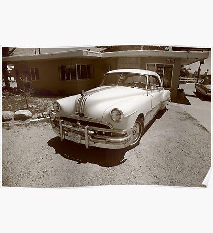 Route 66 - Classic Pontiac Poster