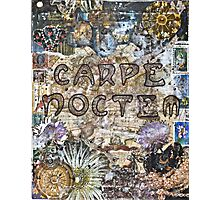 Carpe Noctem Photographic Print