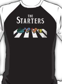 The starter Pokemon Pikachu Charmander T-Shirt