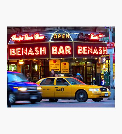 Taxi!    -     New York City Photographic Print