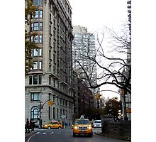 West Side Taxi - New York City  Photographic Print