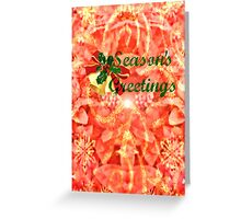 Season's Greetings - greeting card/holiday Greeting Card