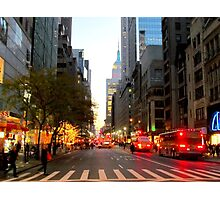 5th Avenue, New York City  Photographic Print