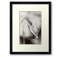 More than words Framed Print