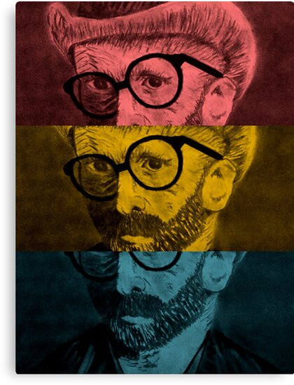 Hipster Van Gogh by Josrick