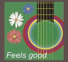Guitar feel good One Piece - Short Sleeve