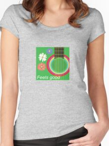 Guitar feel good Women's Fitted Scoop T-Shirt