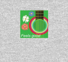 Guitar feel good Womens Fitted T-Shirt