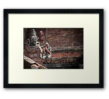 The Sound of Nepal Framed Print