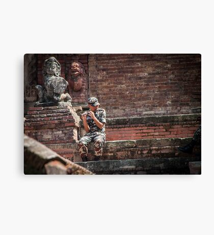 The Sound of Nepal Canvas Print