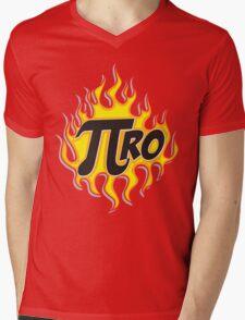 Pi Ro Mens V-Neck T-Shirt
