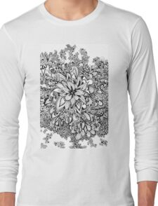 Doodle blossoms Long Sleeve T-Shirt