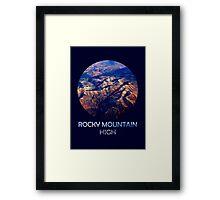 Rocky Mountain High Framed Print