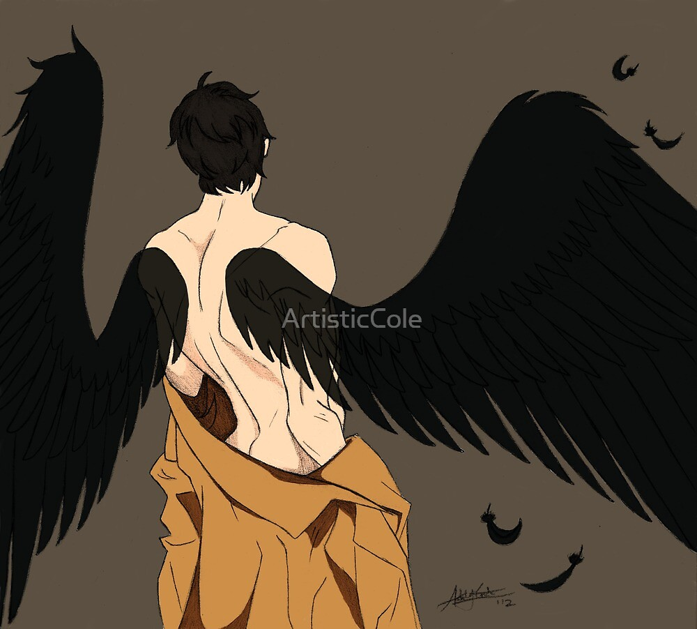 The Fallen Angel  by ArtisticCole