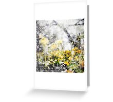 Through the Snow Barefoot Greeting Card