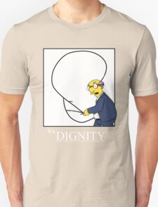It's Dignity Simpsons Shirt T-Shirt