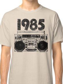 1985 Boombox Art Classic T-Shirt