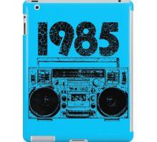 1985 Boombox Art iPad Case/Skin