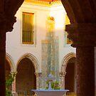 Cloister. Convento de Jesus. Claustro. by terezadelpilar~ art & architecture